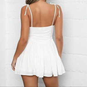 Urban Outfitters Dresses - Tiger Mist Bijou White Mini Dress